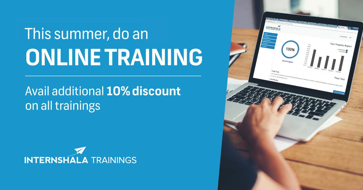 Online Training   Summer Training   Internshala Trainings